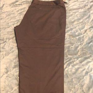 Long brown pants